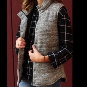 Skies Are Blue Wels Quilted Puffer Vest